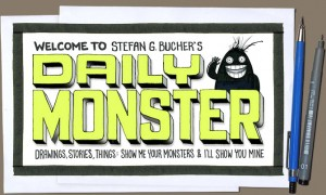 The Daily Monster masthead